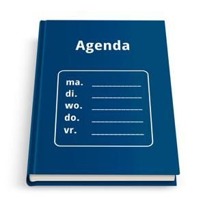 agenda drukken